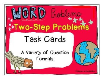 Guided Math (Word Problems) Addition and Subtraction Two-Step Level 1C