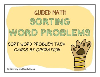 Guided Math (Word Problems) Level 1