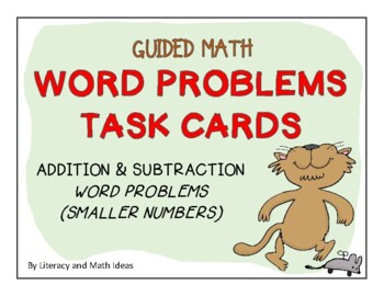 Guided Math (Word Problems) Level 1A