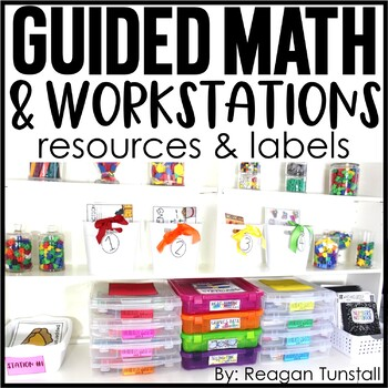 Guided Math and Workstations Resources and Labels