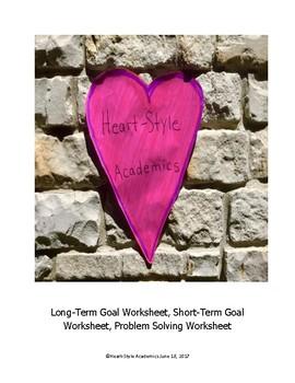 Guided Meditation Goal Sheets