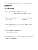 Guided Notes used with 3rd Grade, Journeys 2014, Lesson 8: