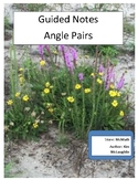 Guided Notes: Angle Pairs