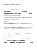 Guided Notes Articles Of Constitution