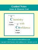GUIDED NOTES - Atoms & Elements Unit