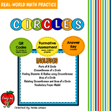 Circles - Real-World Math Practice Bundle