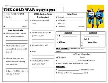 Guided Notes: Cold War at Home