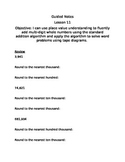 Guided Notes Engage NY Module 1 Lesson 11