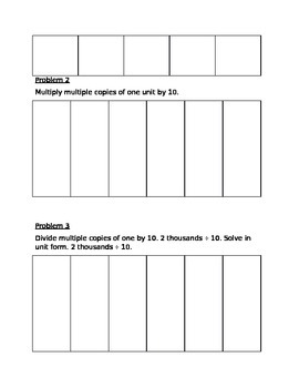 Guided Notes Engage NY Module 1 Lesson 2