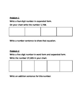 Guided Notes Engage NY Module 1 Lesson 4
