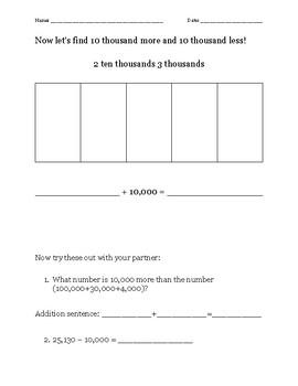 Guided Notes - Eureka Math Module 1 Lesson 6