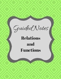 Guided Notes- Functions and Relations