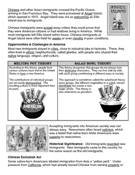15 - Immigration & Urbanization - Scaffold/Guided Notes (Filled-In Only)
