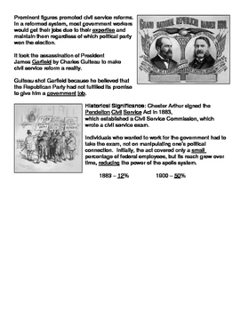 16 - Issues of the Gilded Age - Scaffold/Guided Notes (Filled-In Only)