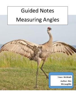 Guided Notes: Measuring Angles