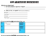 Spanish Notes & Practice - Possessive Adjectives, Comparatives