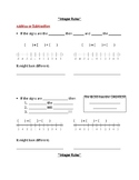 Guided Notes: Rules for Adding & Subtracting Integers