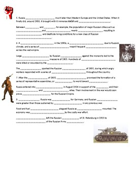 Guided Notes: Russian Revolution Intro