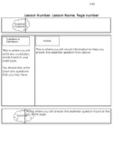 Guided Notes Template
