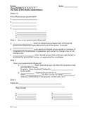 Guided Notes Worksheet for The Role of the Media Power Point