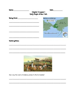 Guided Notes and Review Sheets for Native Americans