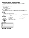 Physical Science Guided Notes (Chemical Safety PowerPoint)