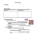 Guided Notes for Introduction to Biology (Characteristics