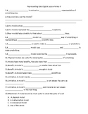 Guided Notes for Science Fusions Grade 6 Earth Unit 1 Lesson 3
