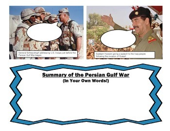 Guided Notes for Vietnam, Korea, and Gulf War 7th Grade GA Social Studies