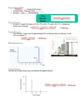 Guided Notes for the Structure of the Atom Powerpoint for General Chemistry