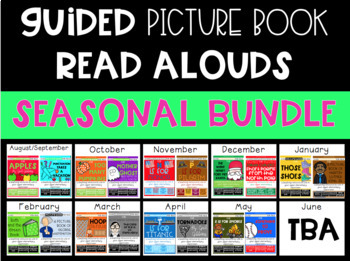 Guided Picture Book Read Alouds BUNDLE: Seasonal Set