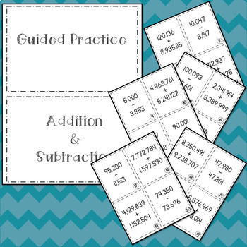 Guided Practice Addition and Subtraction 5.3K