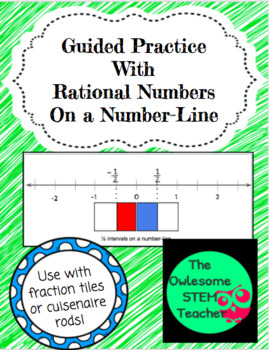 Guided Practice  With  Rational Numbers  On a Number-Line