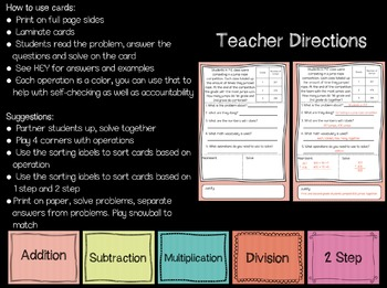 Guided Problem Solving Cards