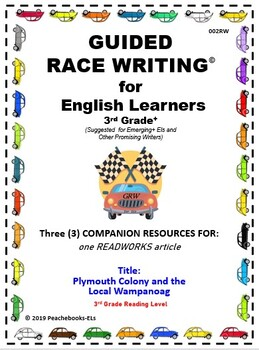 Guided RACE Writing ~ READWORKS Article - Plymouth Colony & The Local Wampanoag