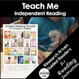 Guided Sight Word Readers Bundle of 127: Teach Me to Read