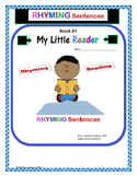 Guided Reading: Kindergarten Reader High Frequency Words - Rhyme, Read and Write