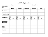 Guided Readers lesson Plan