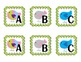 Bird Theme Guided Reading Labels