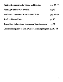 Guided Reading 101 - Complete Unit, Lessons and Worksheets