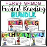 Guided Reading 1st GRADE BUNDLE Levels F-J