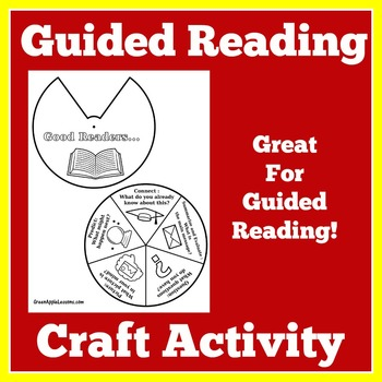 FREE Guided Reading Activity Wheel