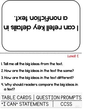 Guided Reading Lesson Plans Bundle Levels E-H
