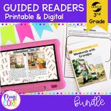 Guided Reading 3rd Grade Bundle - Printable & Digital Dist