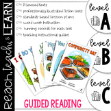 Guided Reading A-C Bundle
