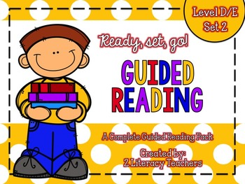 Guided Reading: A Complete Pack Level D/E *SET 2*