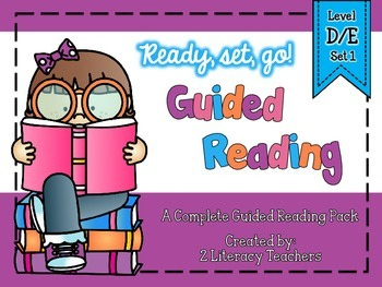 Guided Reading: A Complete Pack Level D/E *Set 1*