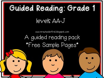 First Grade Guided Reading: SAMPLE