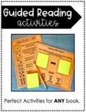 Guided Reading Activities -Reader's Workshop Literacy Centers- Growing Resource!
