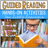 Guided Reading Activities - Blends & Digraphs